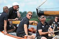 ZEILEN: GROU: Pikmar, De Tynje, Wide Ie, 30-07-2016, SKS skûtsjesilen, openingswedstrijd, Lodewijk Hzn. Meeter (Huizum), ©foto Martin de Jong