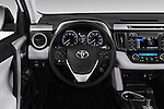 Car pictures of steering wheel view of a 2016 Toyota RAV4 XLE 5 Door SUV Steering Wheel