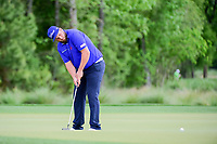 Andrew Johnston (GBR) watches his putt on 2 during round 1 of the Shell Houston Open, Golf Club of Houston, Houston, Texas, USA. 3/30/2017.<br /> Picture: Golffile | Ken Murray<br /> <br /> <br /> All photo usage must carry mandatory copyright credit (&copy; Golffile | Ken Murray)