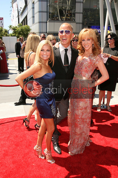 Kristin Chenoweth, Ryan Murphy and Kathy Griffin<br />