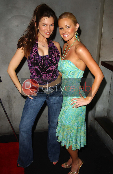 Alicia Arden and Katie Lohmann<br />at Alana Curry's Birthday Party. Lounge 217, Santa Monica, CA. 05-04-06<br />Dave Edwards/DailyCeleb.com 818-249-4998