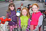100 MILE RUN: Admiring the Honda 50's at the Dingle 100 Mile Honda 50 Run in aid of Kerry Life Education on Easter Sunday at the Na Gaei clubhouse, Tralee l-r: Lia Alice and Ruth O'Connell, Oakpark, Tralee.