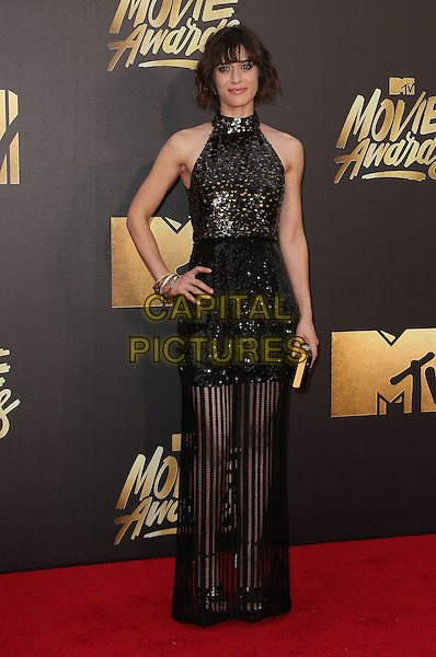 09 April 2016 - Burbank, California - Lizzy Caplan. 2016 MTV Movie Awards held at Warner Bros. Studios. <br /> CAP/ADM/SAM<br /> &copy;SAM/ADM/Capital Pictures