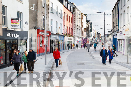 Roadworks completed in the Mall, Tralee.