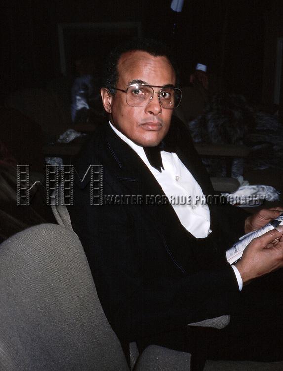 Harry Belafonte.NYC.1981.© Walter McBride. © Retna Ltd.
