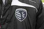 19 November 2010: A Sporting Kansas City staffer helping out with the event, wears the new team logo on his jacket. FC Dallas held a practice at Toronto, Ontario, Canada as part of their preparations for MLS Cup 2010, Major League Soccer's championship game.