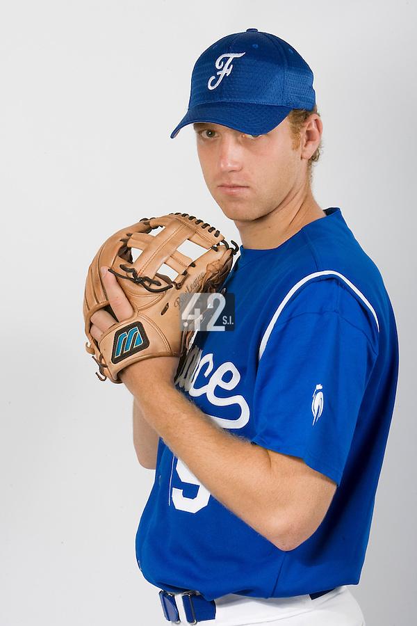 15 Aug 2007: Nicolas Dubaut - Team France Baseball