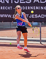 Netherlands, Rotterdam August 05, 2015, Tennis,  National Junior Championships, NJK, TV Victoria, Cato Tangkau<br /> Photo: Tennisimages/Henk Koster