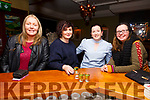 Enjoying Women's Christmas In Evas Bar & Restaurant, Cahersiveen were l-r; Breda Clifford, Aine McGillicuddy, Teresa O'Sullivan & Joanne Foley.