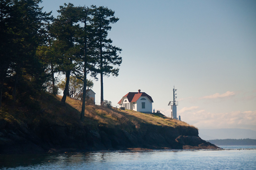 Turn Point Lighthouse, Stuart Island, Washington, US