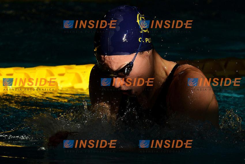 Ombretta Plos Aniene 100m Rana Donne .Riccione 19/12/2012 Piscina Comunale .Campionati Italiani Asssoluti Invernali Open Nuoto Riccione 2012  .Foto Andrea Staccioli Insidefoto