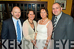 Having a wonderful time at the Beale GAA Social held in The Cliff House Hotel, Ballybunion on Saturday night were l/r Pat & Rose Treacey and Margaret & Murt Scanlon................................................................................................................................................................ ............