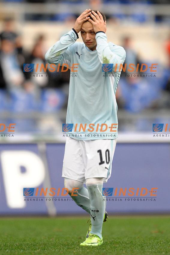Mauro Zarate (Lazio)<br /> Roma 25/1/2009 Stadio &quot;Olimpico&quot; <br /> Campionato Italiano Serie A 2008/2009<br /> Lazio Cagliari (1-4)<br /> Foto Andrea Staccioli Insidefoto