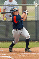 SAN ANTONIO, TX - APRIL 23, 2006: The University of Louisiana at Monroe Warhawks vs. The University of Texas at San Antonio Roadrunners Softball at Roadrunner Field. (Photo by Jeff Huehn)