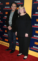 www.acepixs.com<br /> <br /> January 19 2017, New York City<br /> <br /> (L-R) Peter Buffett and Susie Buffett arriving at 'Becoming Warren Buffett' World premiere at The Museum of Modern Art on January 19, 2017 in New York City.<br /> <br /> By Line: Wong/ACE Pictures<br /> <br /> ACE Pictures Inc<br /> Tel: 6467670430<br /> Email: info@acepixs.com<br /> www.acepixs.com