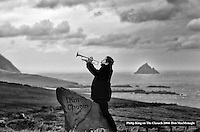 Philip King pictured at Dun Chaoin on the Dingle Penninsula in County Kerry.<br /> Picture by Don MacMonagle