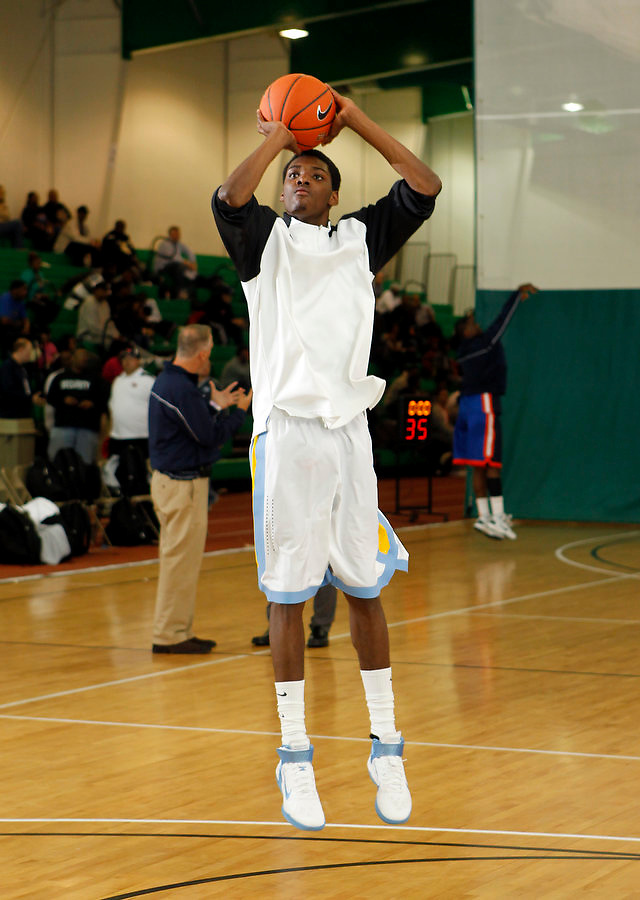 April 9, 2011 - Hampton, VA. USA; Austin Colbert participates in the 2011 Elite Youth Basketball League at the Boo Williams Sports Complex. Photo/Andrew Shurtleff