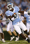 16 September 2006: North Carolina's Brandon Tate returns a kick. The University of North Carolina Tarheels defeated the Furman University Paladins 45-42 at Kenan Stadium in Chapel Hill, North Carolina in an NCAA College Football game.