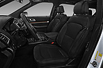 Front seat view of 2017 Ford Explorer Limited 5 Door SUV Front Seat  car photos