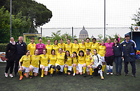 The women's soccer team of Vatican City. 26 may 2019<br />