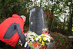 the 10th anniversary memorial for murdered German journalist Battina Poeshel who died on the 25/9/2001 outside the village of Donore in Co Meath..Picture Fran Caffrey www.newsfile.ie