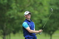 Sam Murphy (Portumna) on the 2nd tee during Round 4 of the Connacht Stroke Play Championship 2019 at Portumna Golf Club, Portumna, Co. Galway, Ireland. 09/06/19<br /> <br /> Picture: Thos Caffrey / Golffile<br /> <br /> All photos usage must carry mandatory copyright credit (© Golffile | Thos Caffrey)