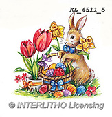 EASTER, OSTERN, PASCUA, paintings+++++,KL4511/5,#e#, EVERYDAY ,rabbits