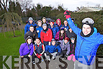 Students from IT, Tralee who are travelling to Finland for ten days, pictured with their team leader Sean McCarthy in foreground, front l-r: Aoife Nuwell, Patrick Walsh, Lorcan Byrne, Jason Brennan and Aine Battles. Back l-r: Damien Rael, Charlie McCarthy, Luke O'Driscoll, Christopher Thomas, Shane O'Connor, Anthony O'Leary, Jonathan Silles, Martina O'Brien,  Shane Fogarty, Graham O'Neill and Jean Casey.