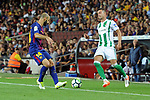 League Santander 2017/2018. Game: 01.<br /> FC Barcelona vs Real Betis: 2-0.<br /> Javier Mascherano vs Sergio Leon.
