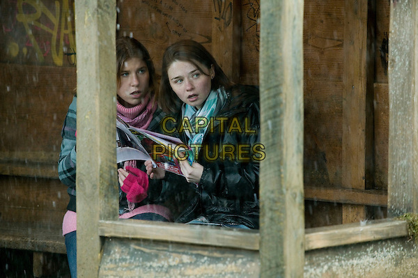 CHARLOTTE CHRISTIE & JESSICA BARDEN.in Tamara Drewe.*Filmstill - Editorial Use Only*.CAP/PLF.Supplied by Capital Pictures.
