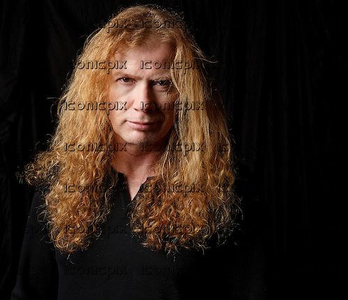 MEGADETH - Dave Mustaine - photosession in London UK - 13 Nov 2015.  Photo credit: Paul Harries/IconicPix **NOT AVAILABLE FOR UK MUSIC MAGAZINES**