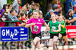 Aoibhinn O'Driscoll  Ardfert-Kilmoyley pulls clear down the back straight of the 200m at the Kerry Community games finals in Castleisland on  Saturday