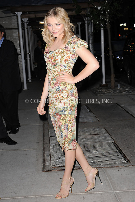 WWW.ACEPIXS.COM . . . . . .May 3, 2012...New York City....Chloe Grace Moretz attends the screening of 'Hick' at the Crosby Street Hotel on May 3, 2012 in New York City. ....Please byline: KRISTIN CALLAHAN - WWW.ACEPIXS.COM.. . . . . . ..Ace Pictures, Inc: ..tel: (212) 243 8787 or (646) 769 0430..e-mail: info@acepixs.com..web: http://www.acepixs.com .