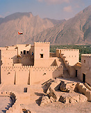 OMAN, citadel with mountain in background