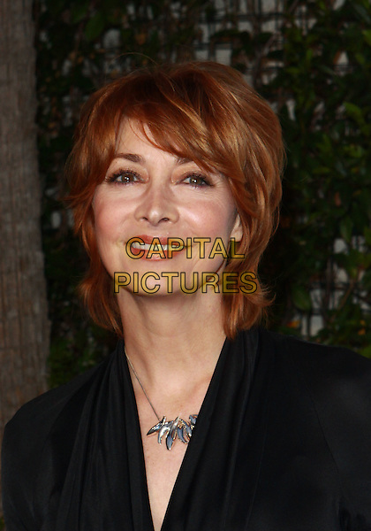 SHARON LAWRENCE .Annual Backstage At The Geffen Gala -Arrivals held at The Geffen Playhouse, Westwood, California, USA, .22nd March 2010..portrait headshot  black silver necklace .CAP/ADM/TC.©T. Conrad/AdMedia/Capital Pictures.