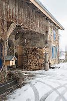 Europe/France/Franche-Comté/25/Doubs/Remoray-Boujeons: Ferme du village //   France, Doubs, Remoray Boujeons:  retail village farm