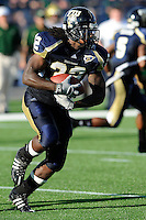 20 September 2008:  FIU running back Julian Reams (32) carries the ball in the second quarter of the USF 17-9 victory over FIU at FIU Stadium in Miami, Florida.