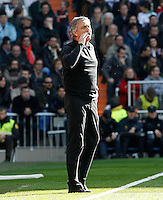 Real Madrid's coach Jose Mourinho during La Liga match.March 02,2013. (ALTERPHOTOS/Acero) /NortePhoto
