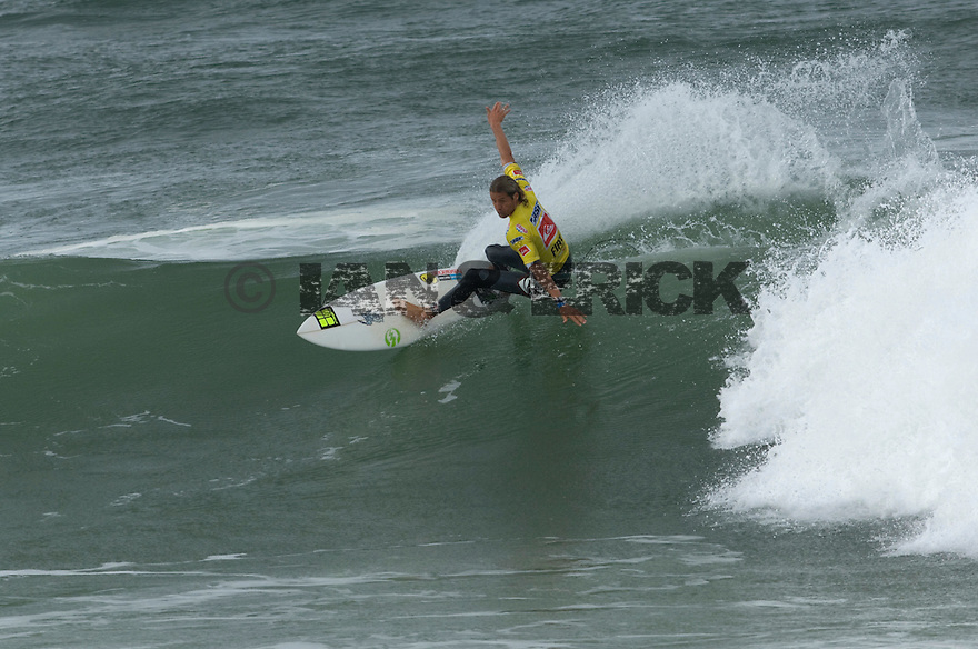 Australia's Luke Stedman During the Quiksilver Pro in the south of France.