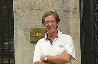 Fredrick Rudebeck CEO of negociant Beyerman. Bordeaux, France