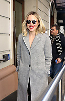 www.acepixs.com<br /> <br /> March 23 2017, New York City<br /> <br /> Actress Kristen Bell arrives at a Midtown hotel on March 23 2017 in New York City<br /> <br /> By Line: Philip Vaughan/ACE Pictures<br /> <br /> <br /> ACE Pictures Inc<br /> Tel: 6467670430<br /> Email: info@acepixs.com<br /> www.acepixs.com