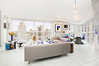 Living Room at 146 West 57th Street