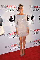 "Bree Turner at the premiere of her new movie ""The Ugly Truth"" at the Cinerama Dome, Hollywood..July 16, 2009  Los Angeles, CA.Picture: Paul Smith / Featureflash"