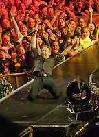 Bruce Springsteen Boston Garden 2012. Featured in Peter Ames Carlin's biography 'Bruce'.