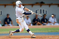 16 May 2010:  FIU's Garrett Wittels (10) bats in the eighth inning as the FIU Golden Panthers defeated the University of South Alabama Jaguars, 5-0, at University Park Stadium in Miami, Florida.  With his single in the fourth inning, Wittels tied Roger Schmuck (Arizona State, 1971) for third on the NCAA all-time consecutive hitting streak list.