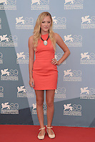 VENICE, ITALY - AUGUST 31: Actress Maika Monroe attends the 'At Any Price' photocall during the 69th Venice Film Festival at the Palazzo del Casino on August 31, 2012 in Venice, Italy AFG / Mediapunchinc