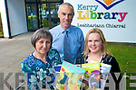 Kerry County Library has seen a huge increase in membership in the past two years because of the recession. .Pictured County Librarian Tommy O'Connor and librarians Tina O'Rourke and Aileen Lynch,