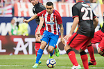 Angel Correa (L2) of Atletico de Madrid in action during their La Liga match between Atletico de Madrid vs Athletic de Bilbao at the Estadio Vicente Calderon on 21 May 2017 in Madrid, Spain. Photo by Diego Gonzalez Souto / Power Sport Images