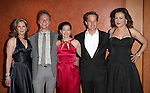 Patricia Kalember, Ben Daniels, Spencer Kayden, Adam James & Jennifer Tilly.attending the Opening Night After Party for the Roundabout Theatre Company's Broadway Production of 'Don't Dress For Dinner' at the American Airlines Theater on 4/26/2012 in New York City.