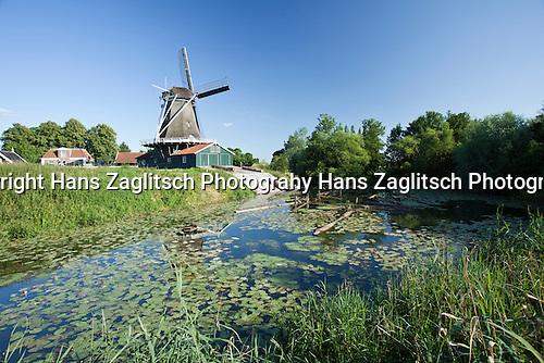 Alte Sägemühle in Worp, Deventer, Overijssel, Niederlande